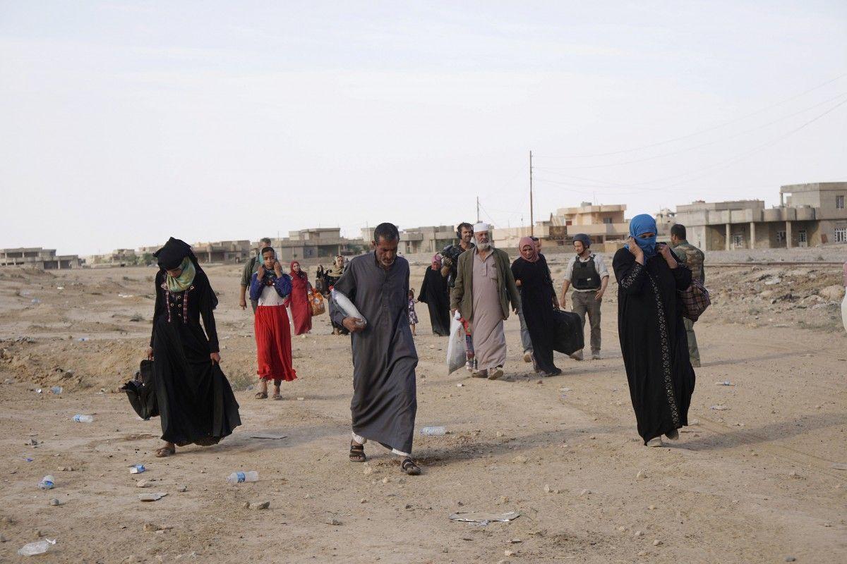 Бещенцы из Мосула / Фото REUTERS