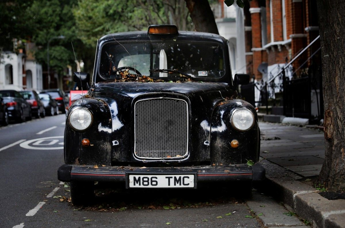 Лондонское такси / REUTERS