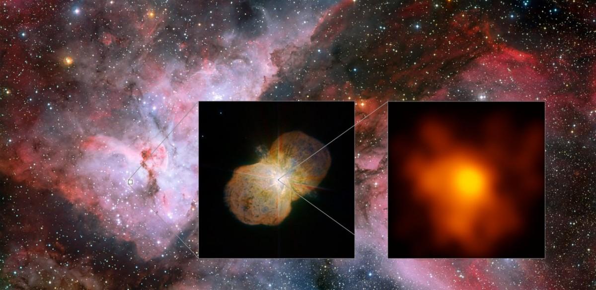 Ученые получили новые фото звезды, способной уничтожить жизнь на Земле / eso.org