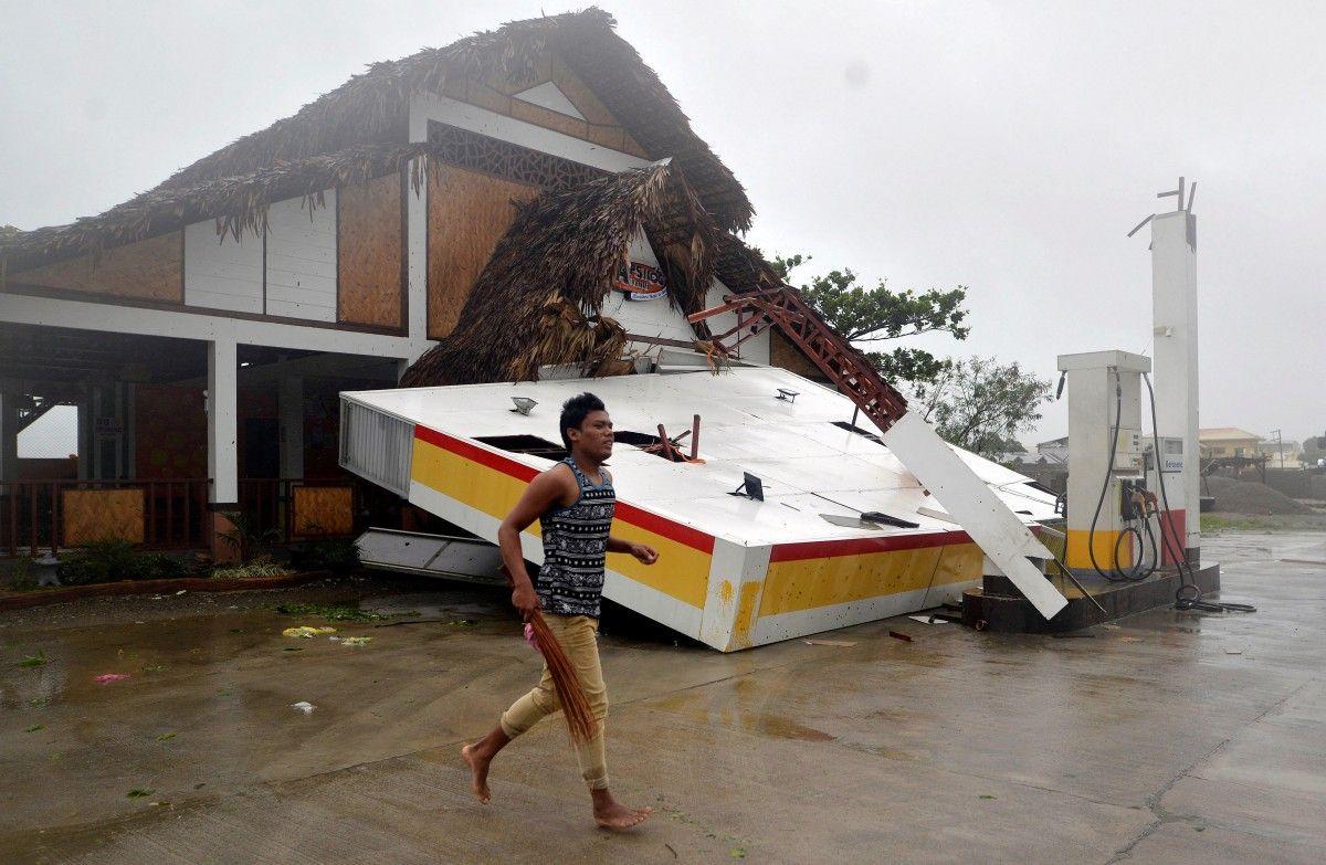 Последствия супертайфуна