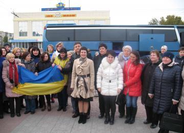 25 педагогів з Луганщини приїхали на Тернопільщину / Луганская ОВГА
