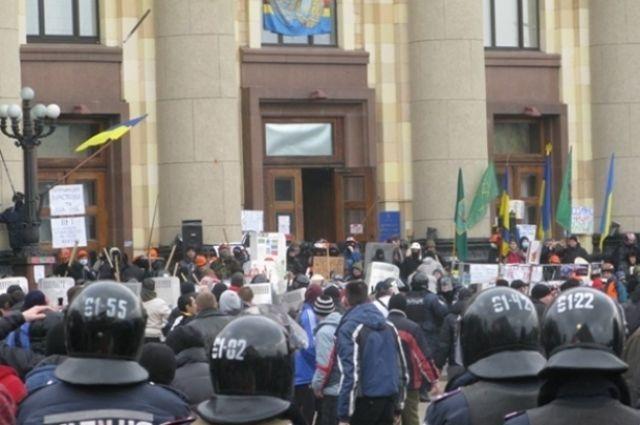 Four participants of seizure of the Kharkiv Regional State Administration building hear their verdicts / AIF-Ukraine