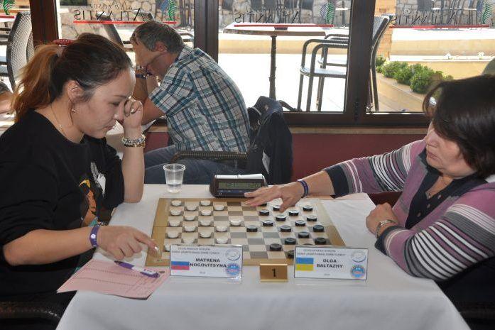 Балтажы остановилась за шаг до медали Чемпионата Европы / ukrshashki.at.ua