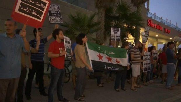 В Израиле протестовали против Путина / 24 канал