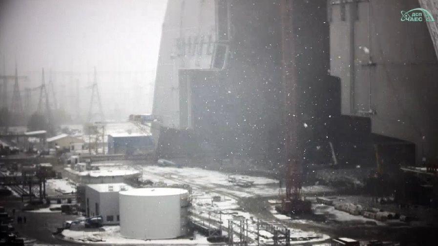 Сніг у Чорнобилі