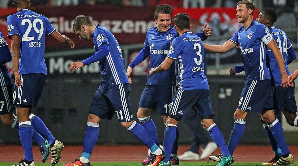 Коноплянка забил два гола в матче Кубка Германии / dfb.de