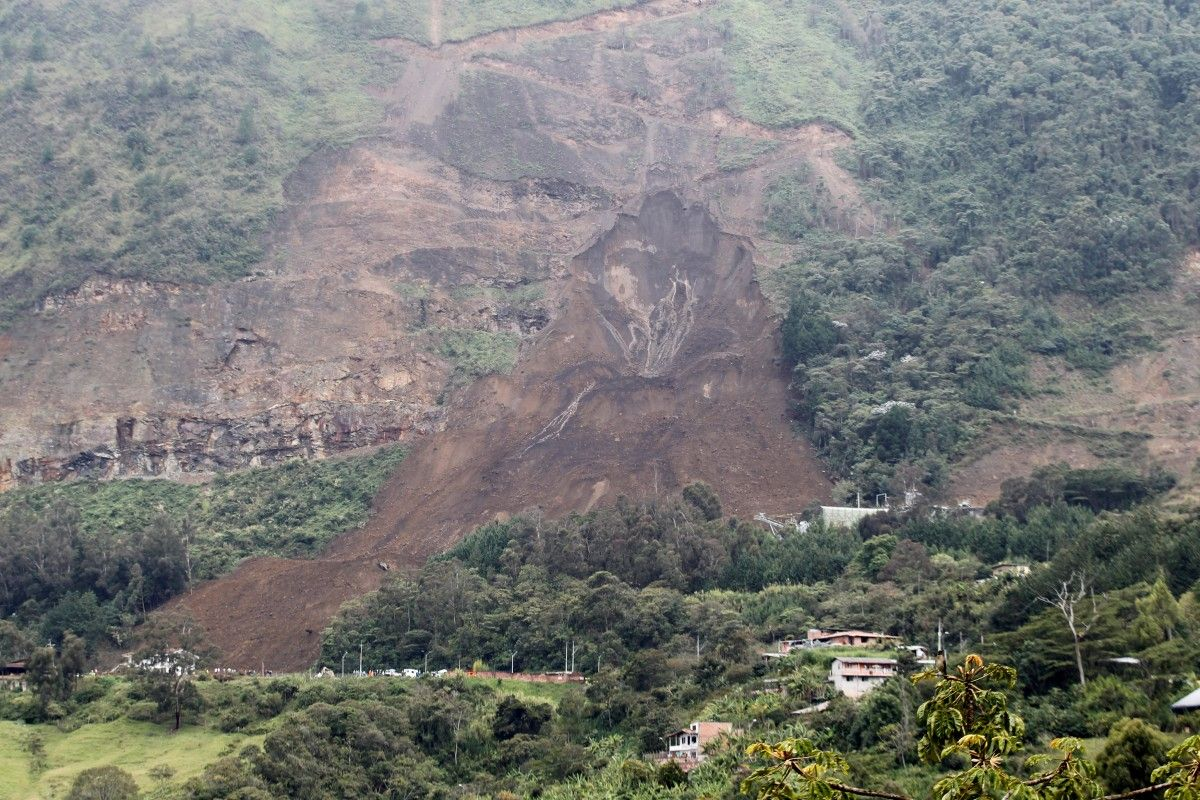 Зсув у Колумбії / Reuters