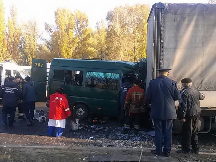 Двух тяжело травмированных отвезли в 16-ю больницу Днепра / dnepr.com