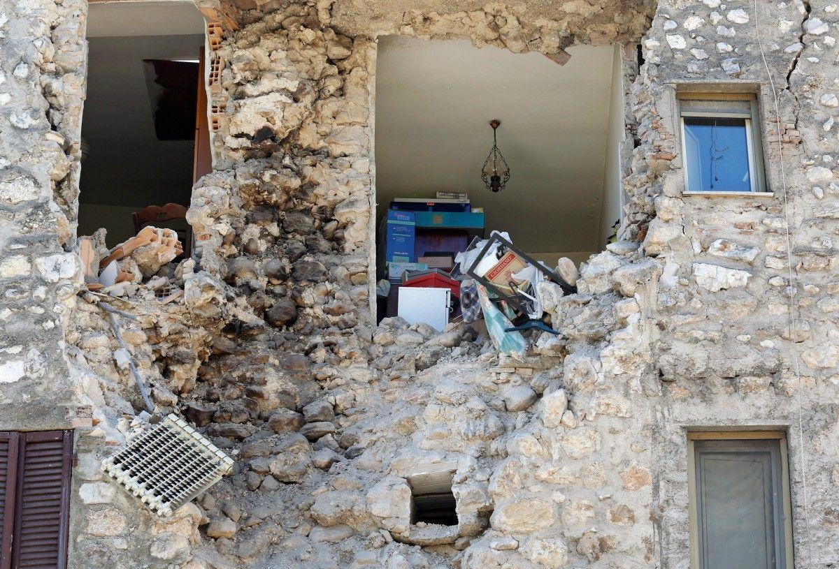 Землетрус в Італії / REUTERS