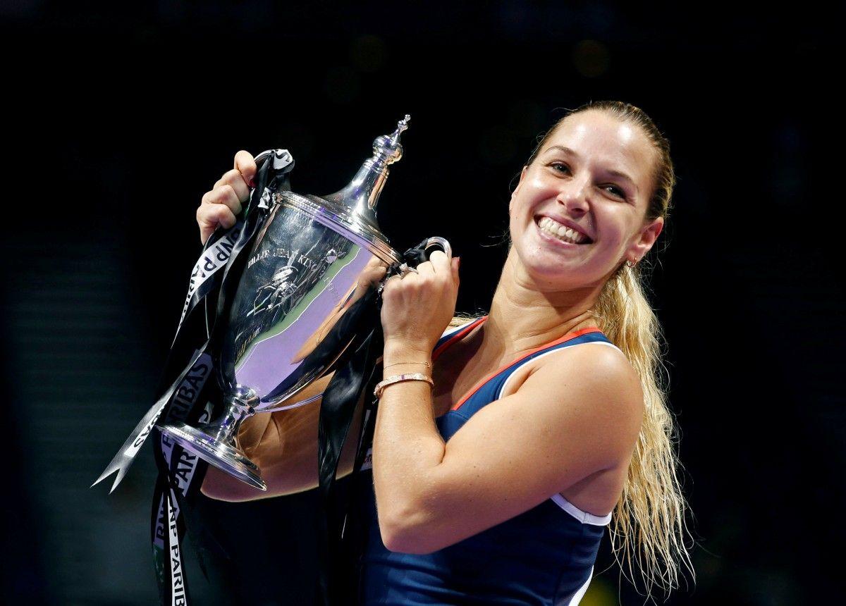 Цибулкова стала переможницею Підсумкового турніру / Reuters