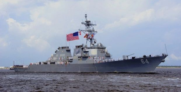 USS Carney en Route to Exercise Sea Breeze 2019 - news world