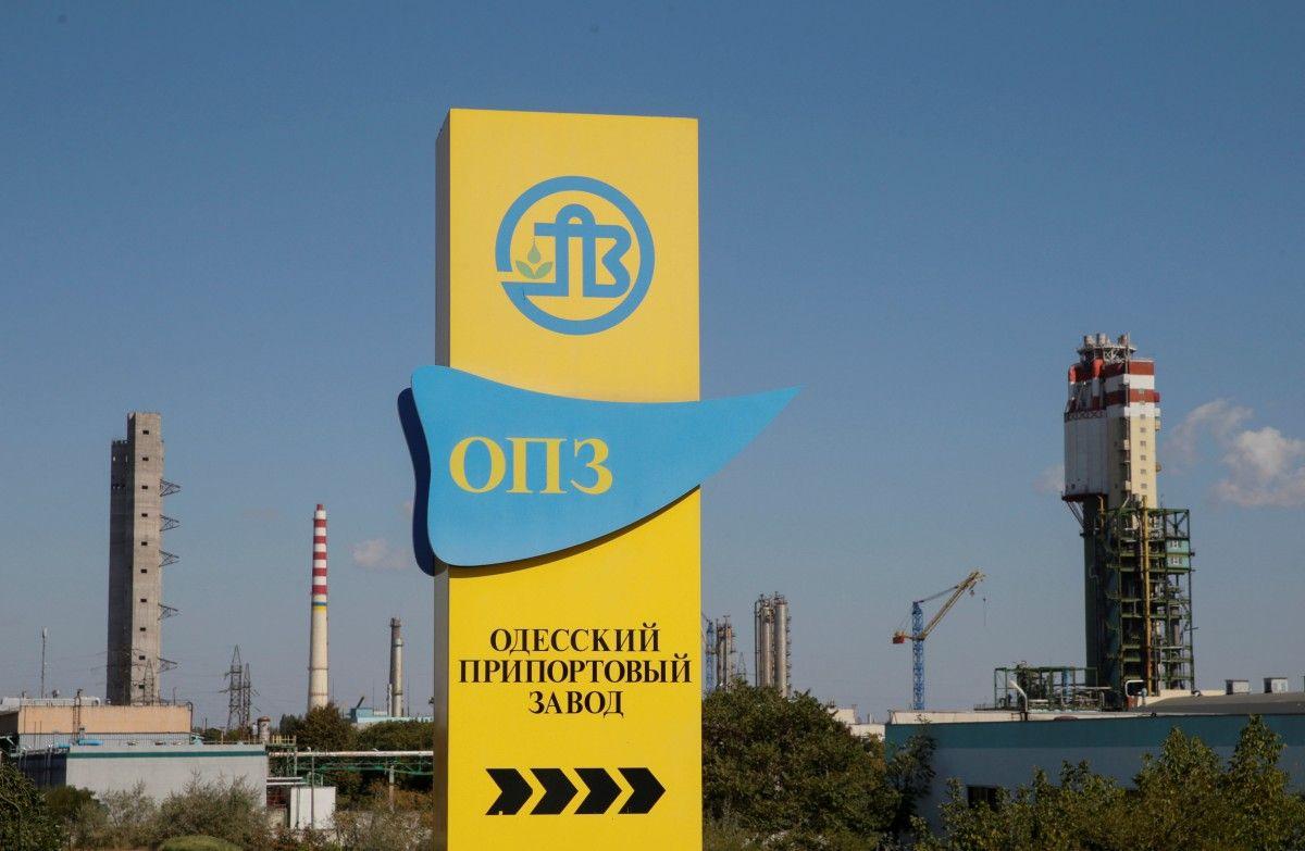 Одеський припортовий завод / ілюстрація REUTERS
