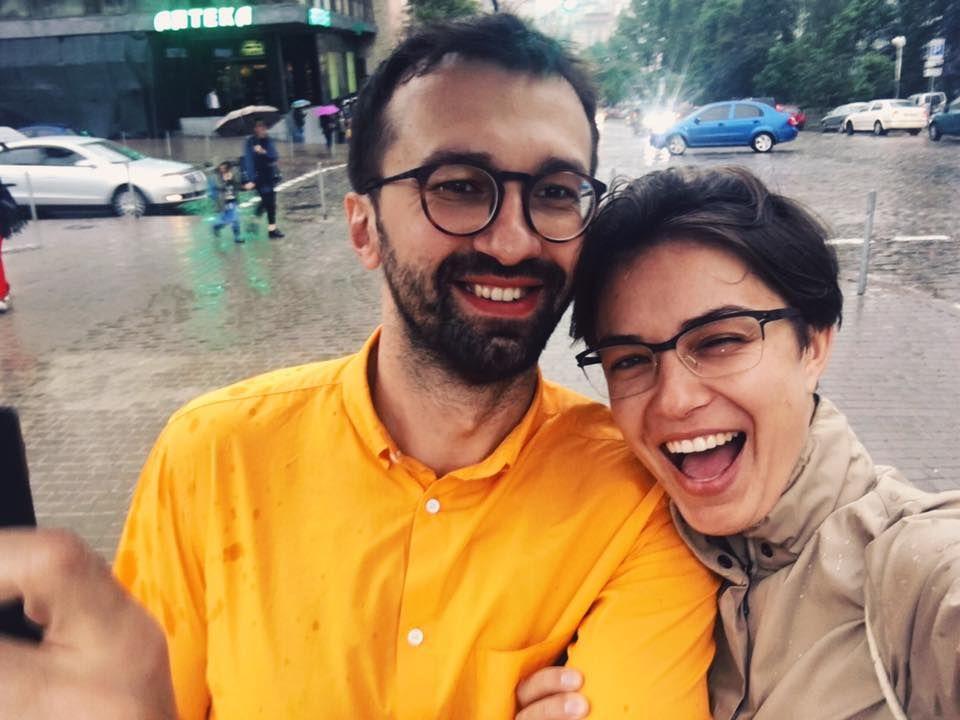 Сергей Лещенко и Анастасия Топольская / фото facebook.com/nastia.dj.ua