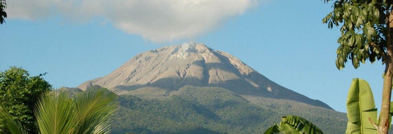 Вулкан Булусан на Филиппинах выбросил пепел на 1 километр