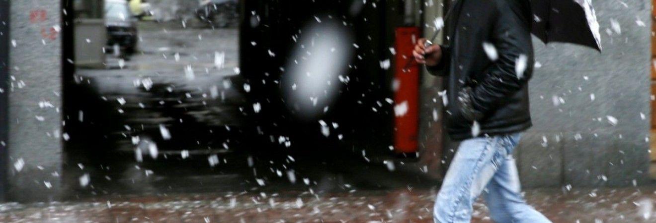 На этой неделе в Киеве пройдет мокрый снег