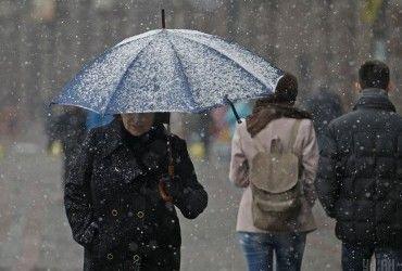 У Києві завтра пройде сніг, вдень температура до +1°