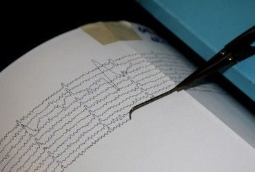 В результате сильного землетрясения на Тайване пострадали несколько человек