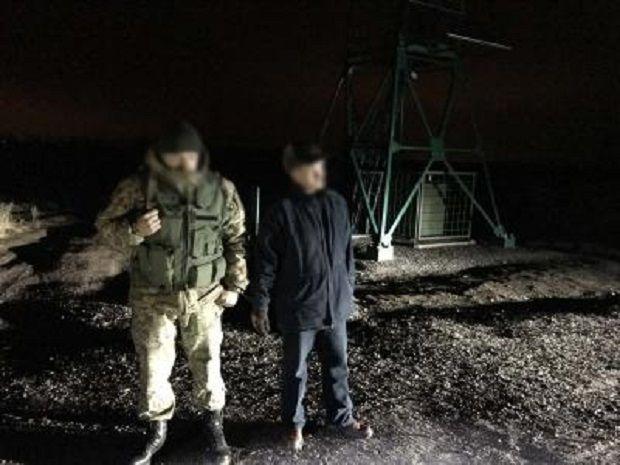 Сепаратист намагався втекти до РФ / ГПСУ