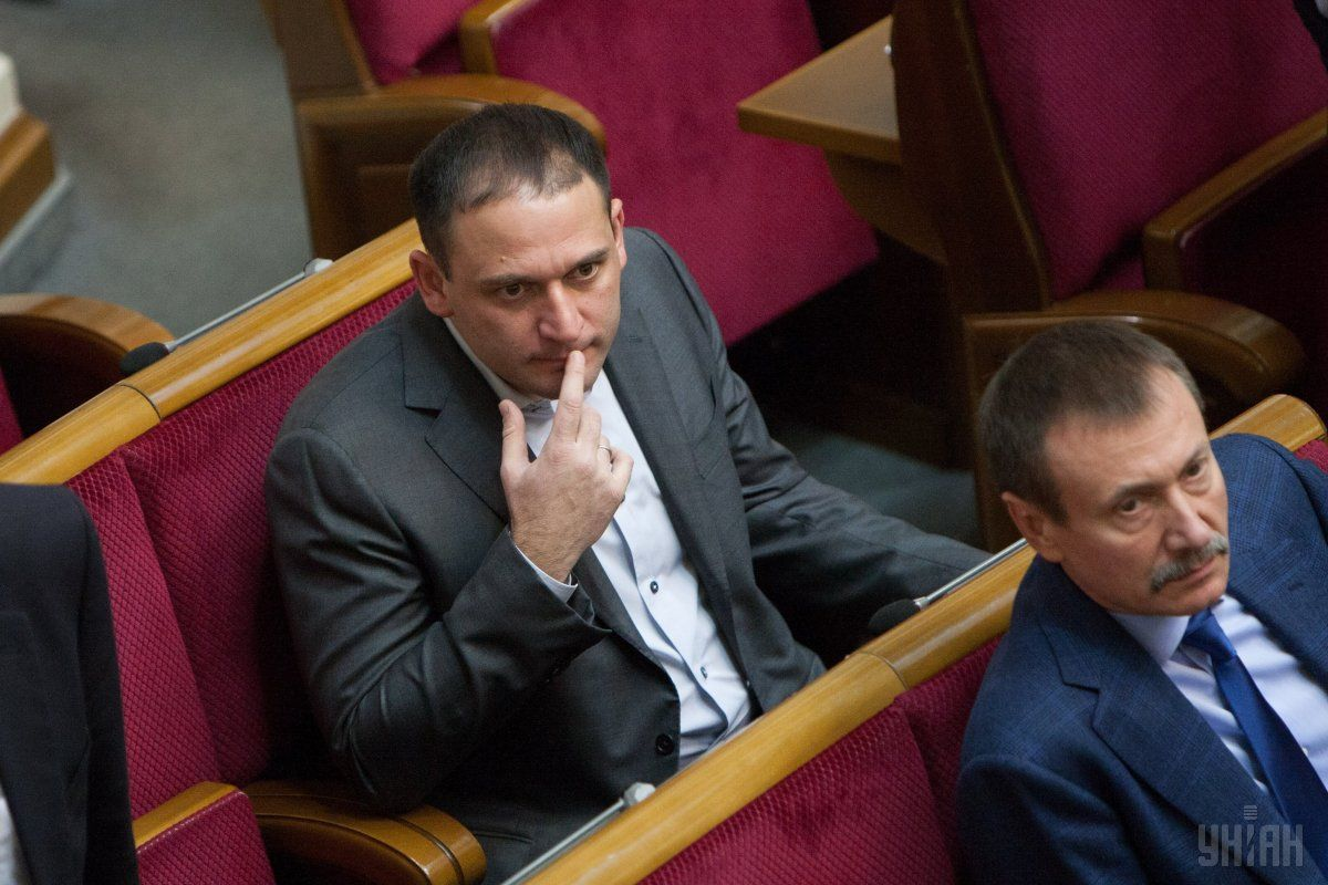 Dobkin, Jr. in parliament / Photo from UNIAN