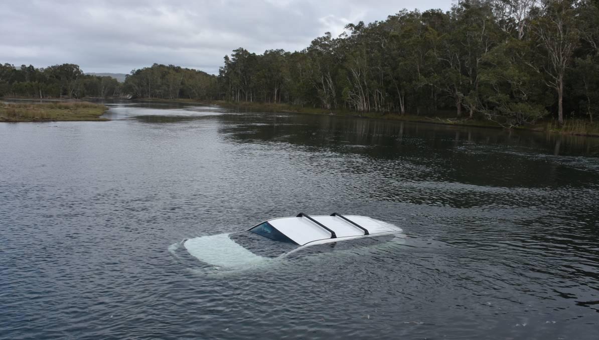Машина мужа утонула / twitter.com/FairfaxNSWnorth