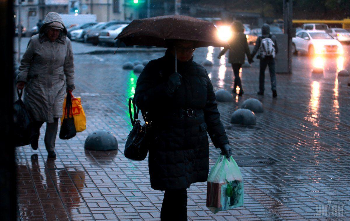 В Киеве сегодня пройдет дождь / Фото УНИАН