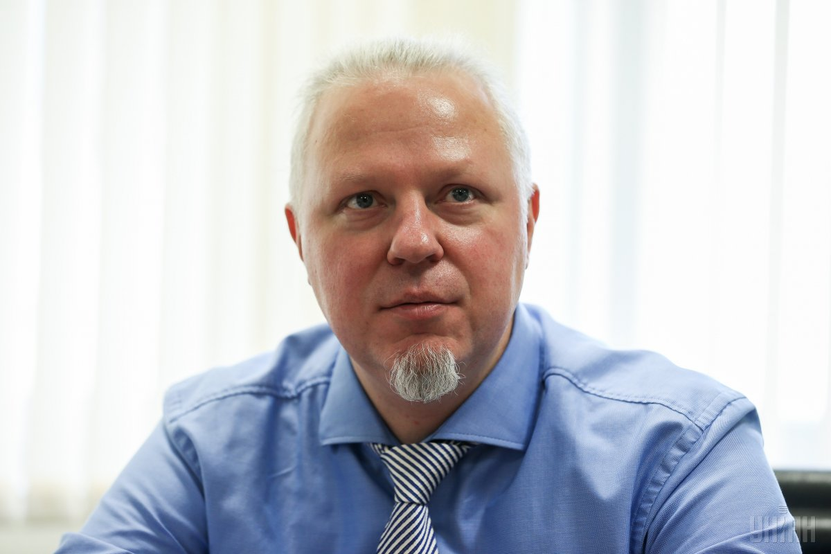 Head of the National Depository Mindaugas Bakas / Photo from UNIAN