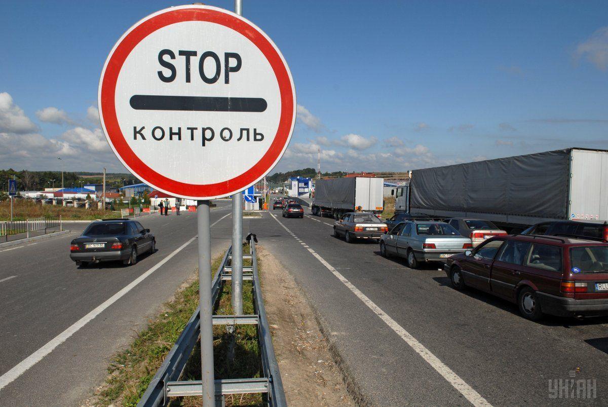 На украинско-польской границе образовались очереди из-за забастовки польских пограничников / фото УНИАН