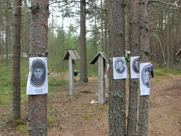 В Україні згадують жертв масових репресій в урочищі Сандармох / фото maidan.org.ua