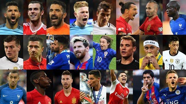 ФИФА назвал 23 кандидата на звание Игрока года / fifa.com
