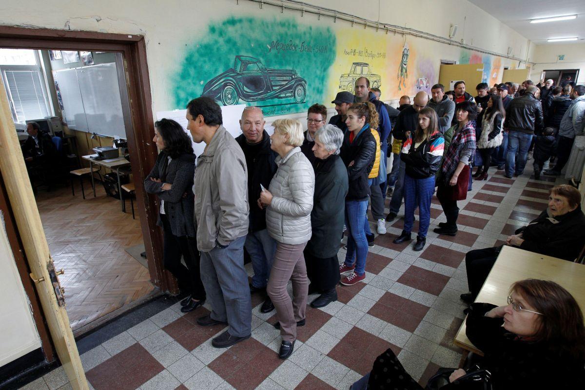 В Болгарии прошли выборы президента / REUTERS