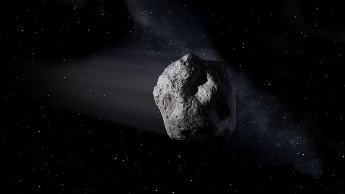 Японский зонд прислал первое в истории видео с поверхности астероида / nasa.gov