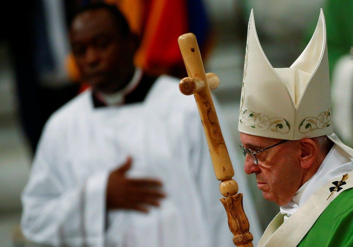 папа римский призвал к миру в Украине / REUTERS