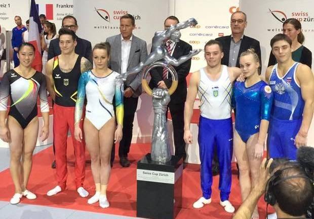 Кисла і Верняєв (посередині) виграли Кубок Швейцарії / Facebook.сом