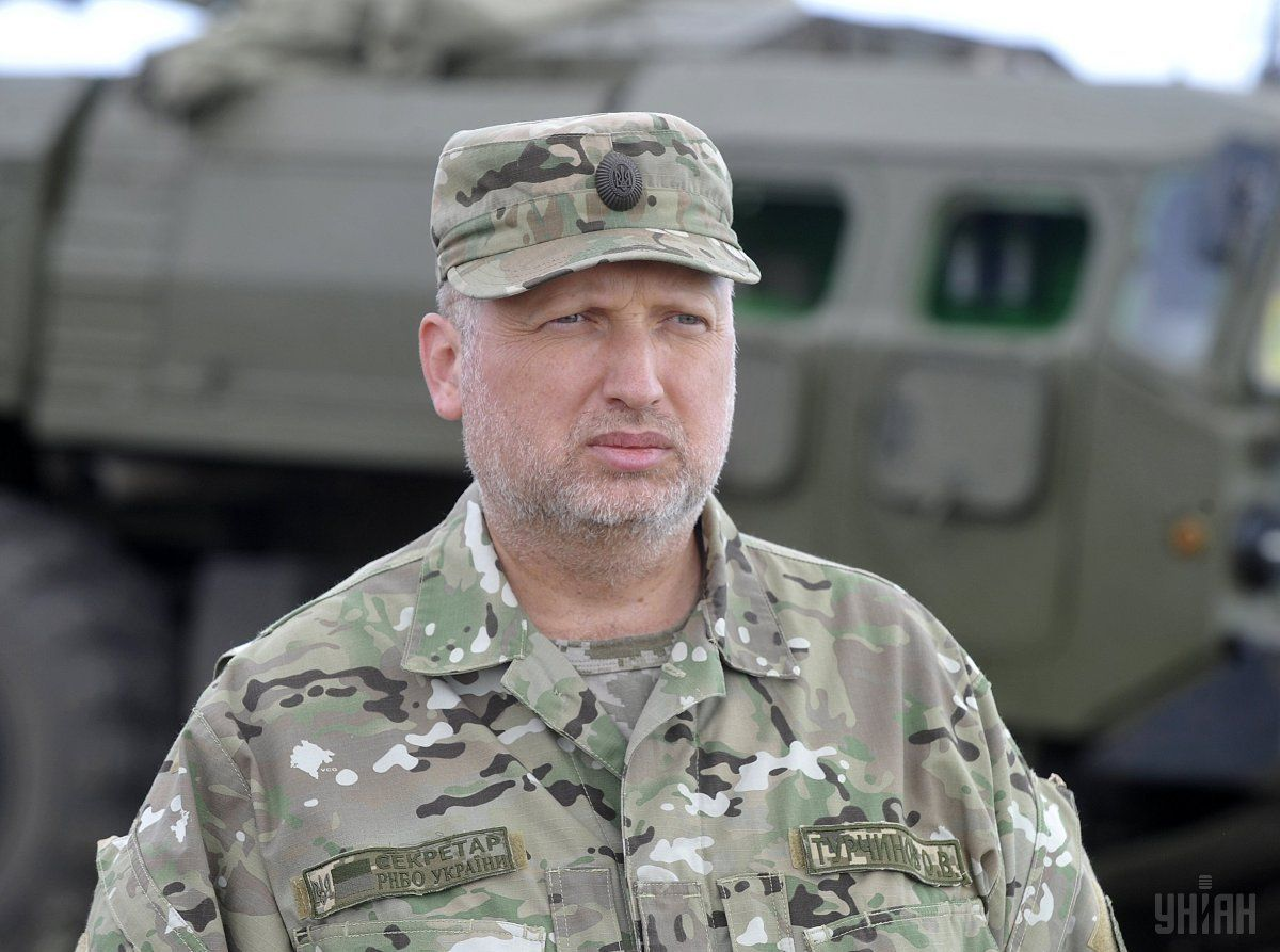 Turchynov: Ukraine operates within the framework of international agreements / Photo from UNIAN