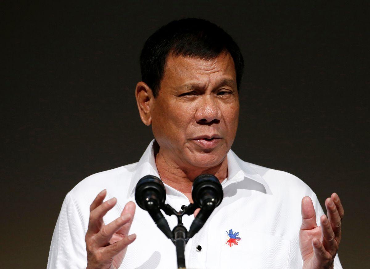 Президент ФіліппінРодріго Дутерте/ REUTERS