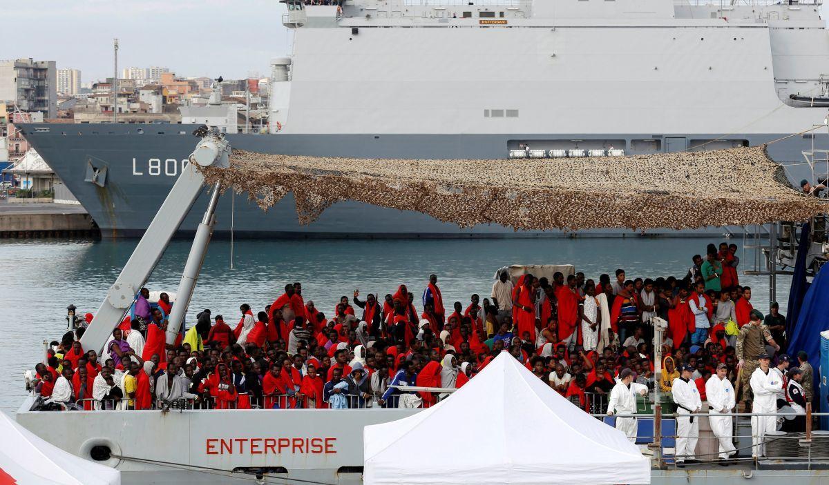 Беженцы в Италии, иллюстративное фото / REUTERS