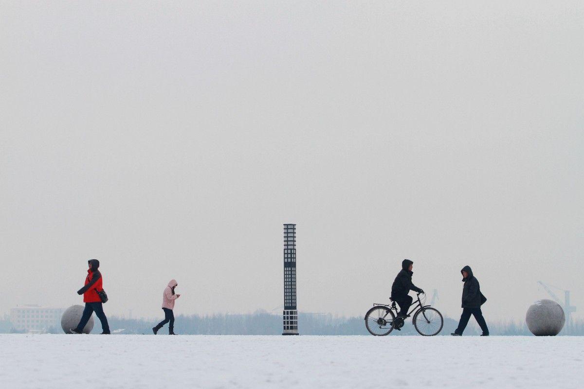 Снігопад в Китаї / Reuters