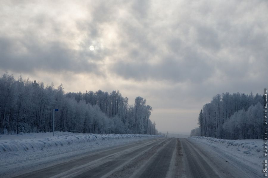 Завтра на автошляхах України пройде сніг / severpost.ru