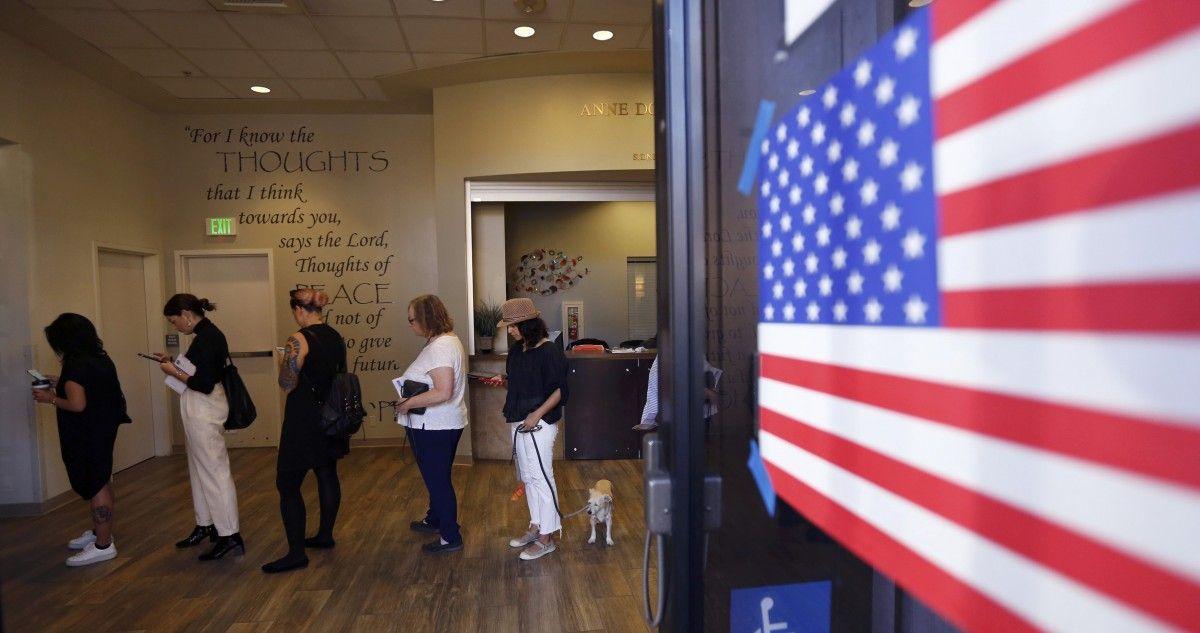Голосование в США / REUTERS