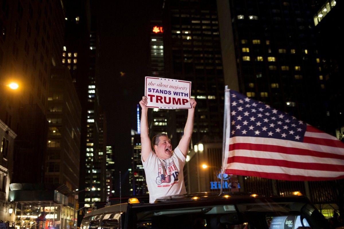 Сторонник Дональда Трампа / REUTERS