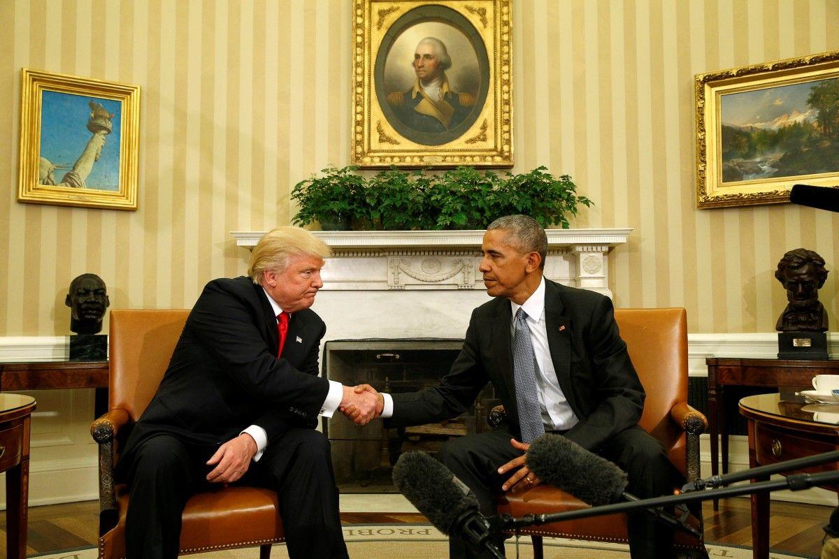 Трамп и Обама / REUTERS