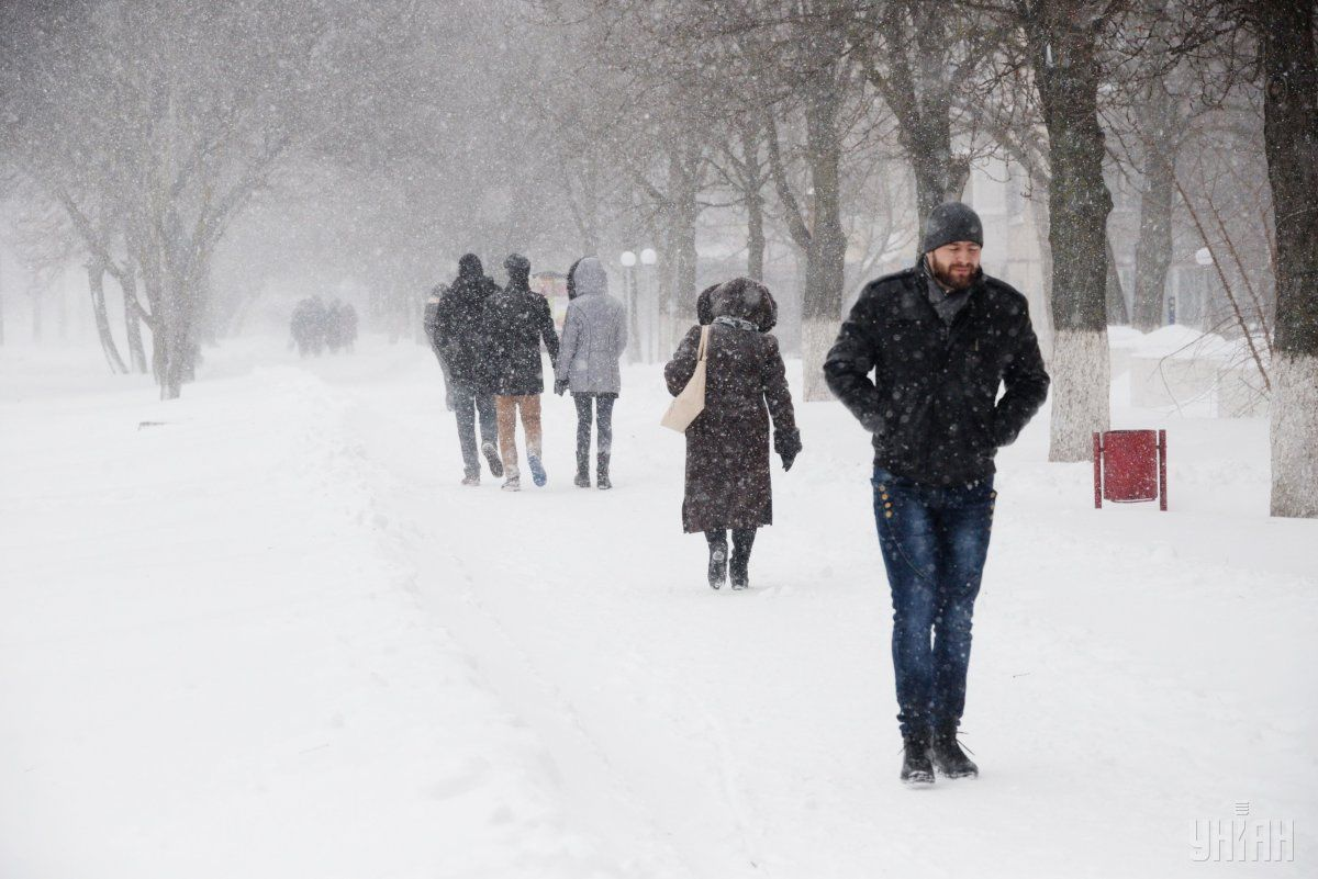 В Украину надвигается циклон из Италии / Фото УНИАН
