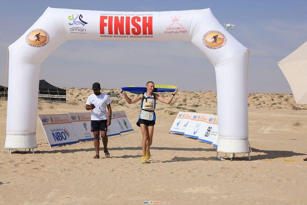 Глива посів 2-е місце в Омані / marathonoman.com
