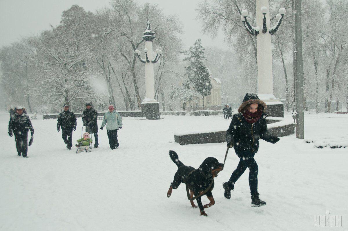 У неділю в Україні пройде сніг / УНІАН