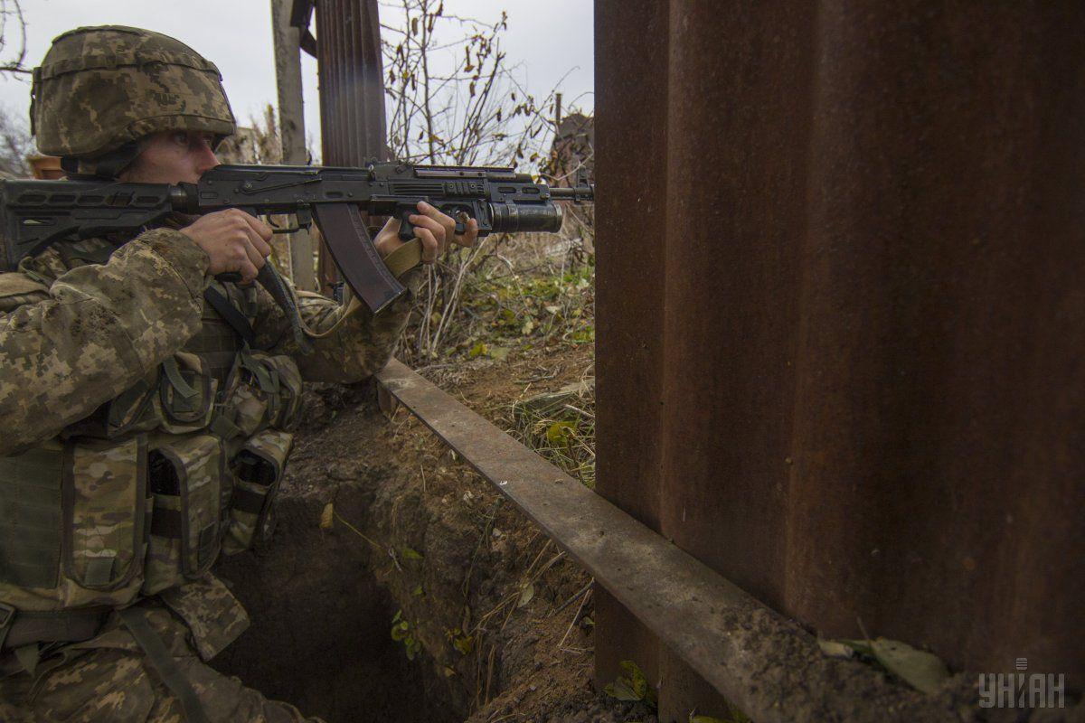 За добу загиблих серед українських військовослужбовців не було / Фото УНІАН