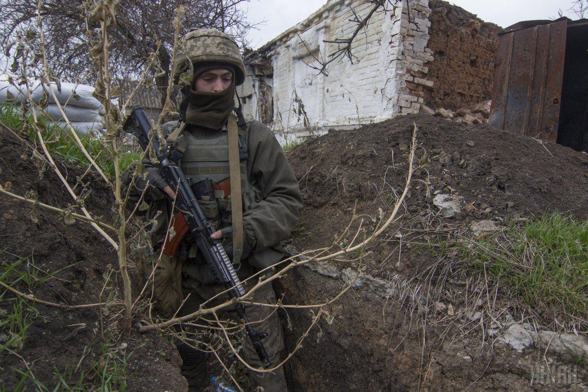 Потерь в результате обстрелов среди личного состава Объединенных сил не было / фото УНИАН