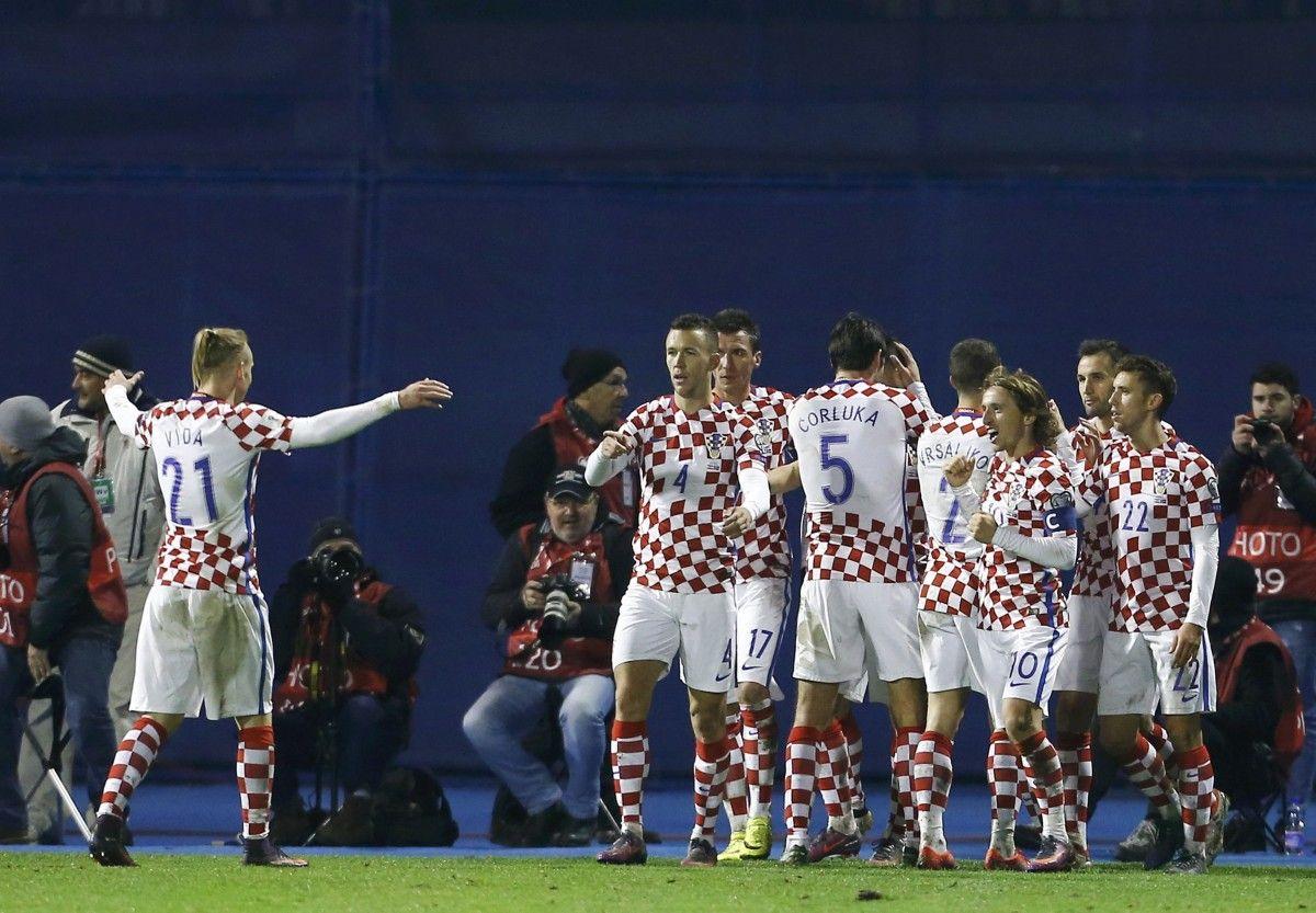 Збірна Хорватії перемогла Ісландію / Reuters