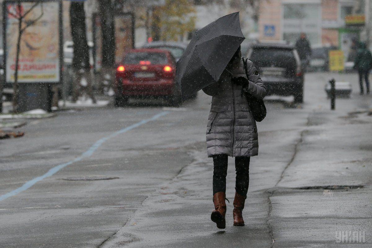 Синоптики предупреждают киевлян о осложнения погодных условий 13 ноября / Фото УНИАН