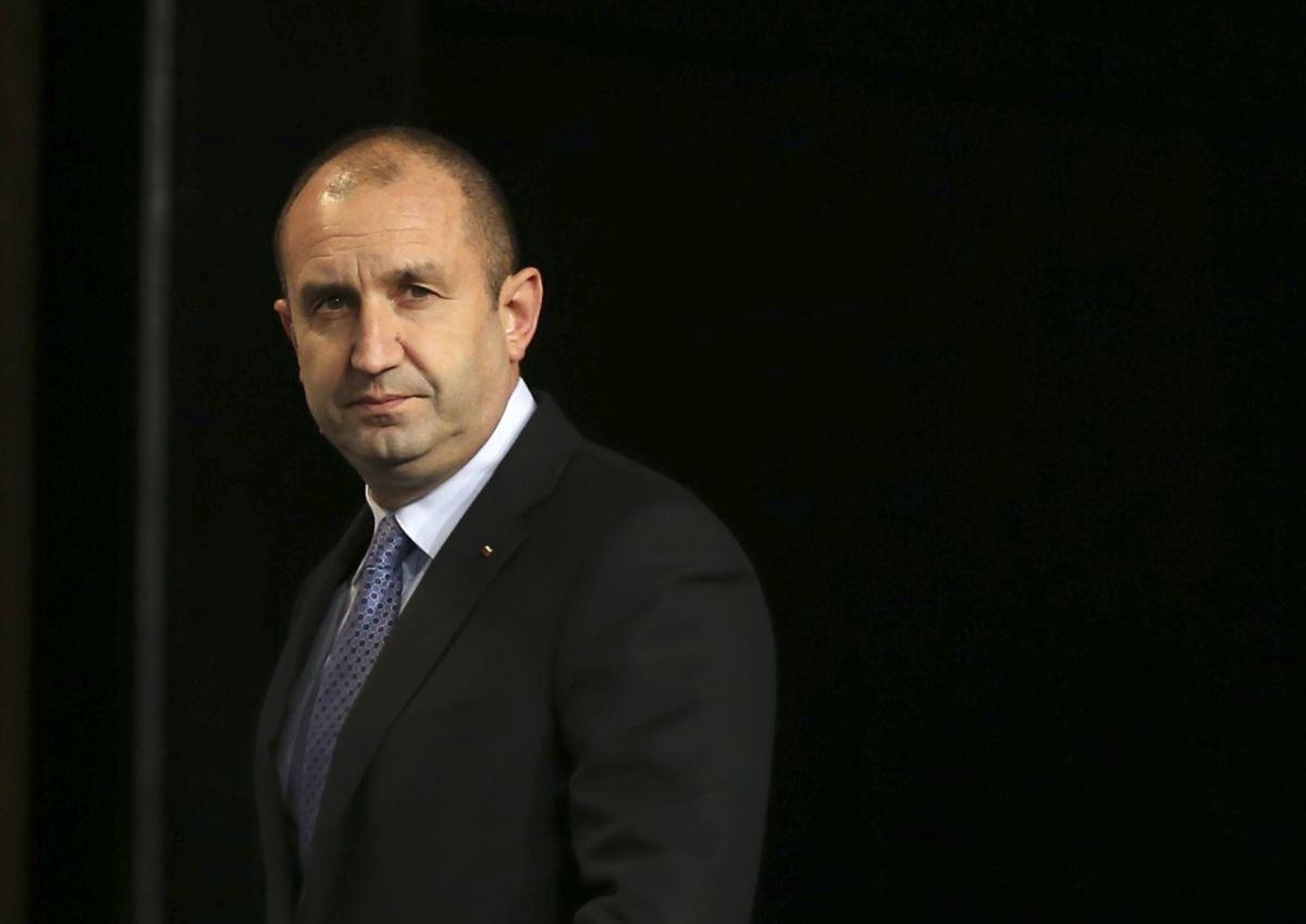 Румен Радев, новоизбранный президент Болгарии / REUTERS