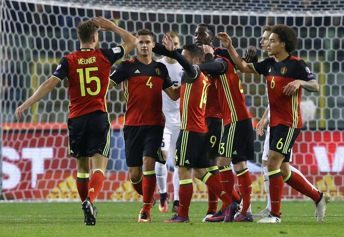 Сборная Бельгии победила Эстонию / Reuters
